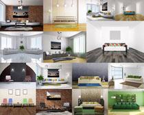 室內風格設計攝影高清圖片