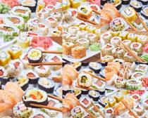 日本寿司展示拍摄高清图片