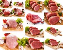 新鲜瘦肉摄影高清图片