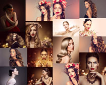 歐美美發發型美女拍攝高清圖片