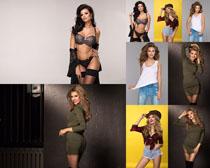 國外時尚女子模特攝影高清圖片