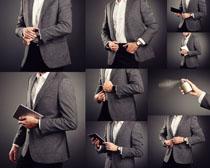 西装男士模特摄影高清图片