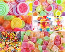 漂亮的彩色糖果摄影高清图片