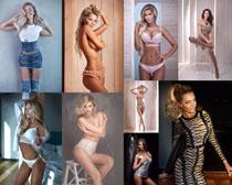 歐美性感女子寫真拍攝高清圖片