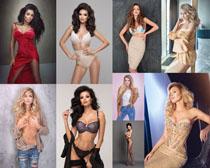 國外性感女模特寫真攝影高清圖片