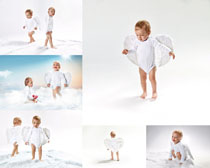 国外宝宝天使写真摄影高清图片