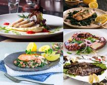 国外海鲜美食摄影高清图片
