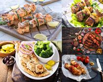 烤肉美食拍摄高清图片