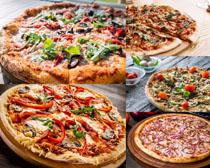 辣椒披萨食物摄影高清图片