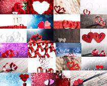情人節愛心禮物攝影高清圖片