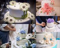 婚禮蛋糕攝影高清圖片