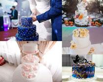 婚禮慶典蛋糕攝影高清圖片