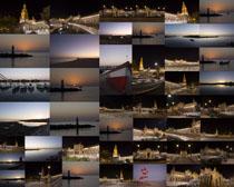 城市夜景風光攝影高清圖片