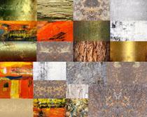锈铁木头背景摄影高清图片