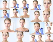 脸部护理欧美美女摄影高清图片
