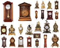 老式鐘表攝影高清圖片