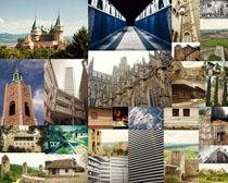 歐式古典建筑攝影高清圖片