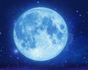 地球月亮背景PSD素材