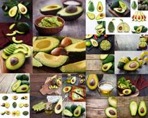 牛油果食物摄影高清图片