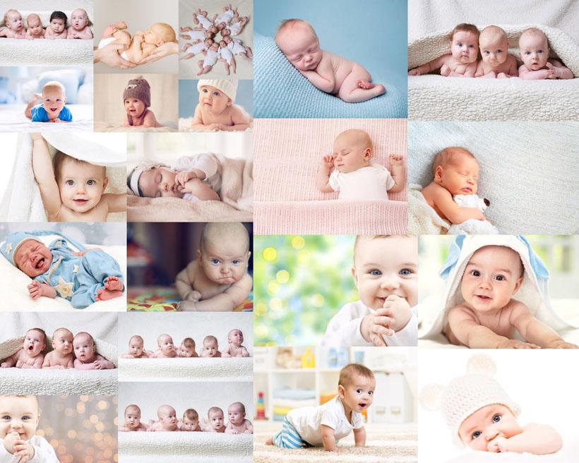 可爱国外宝宝写真摄影高清图片