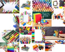 兒童色彩筆攝影高清圖片