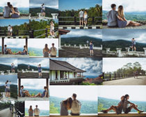 年青情侣爱情摄影高清图片