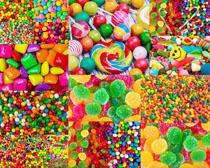 迷你彩色糖果摄影高清图片