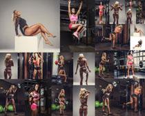性感健身美女拍摄高清图片