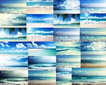 大海海浪景观拍摄高清图片