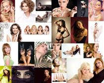 性感的歐美女子寫真攝影高清圖片