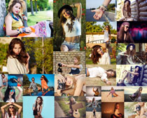 欧美写真拍摄美女摄影高清图片