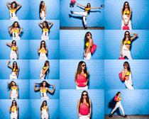 时尚模特美女拍摄高清图片