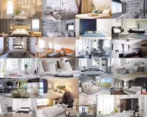 家居床布置攝影高清圖片