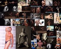 健身肌肉男子摄影高清图片