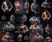 肌肉男子摄影高清图片