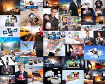商务理财人士摄影高清图片