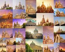 梦幻城堡建筑摄影高清图片