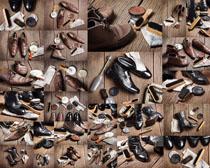商务男士皮鞋展示摄影高清图片
