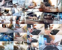操作數碼商務男人攝影高清圖片