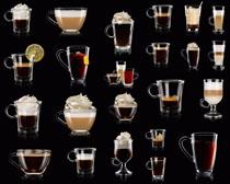杯中咖啡摄影高清图片