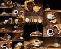 咖啡杯子食材果摄影高清图片