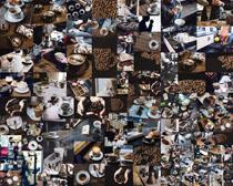 咖啡制作食材展示摄影高清图片
