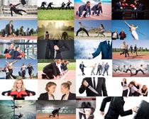 商業團隊人士攝影高清圖片
