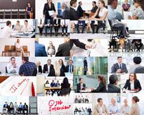 商务会议人士摄影高清图片