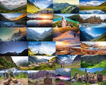 山川风光建筑景观摄影高清图片