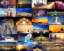 海上轮船摄影高清图片