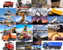 挖土运输汽车摄影高清图片
