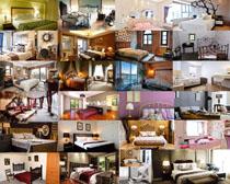 臥室家具風格攝影高清圖片