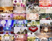 浪漫婚紗慶典攝影高清圖片