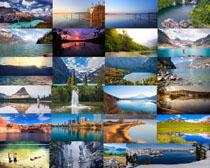 美丽的湖泊景观摄影高清图片